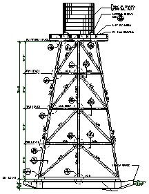 Water Towers Engineered Plans For 4 Story Open Framed Tower on home blue prints